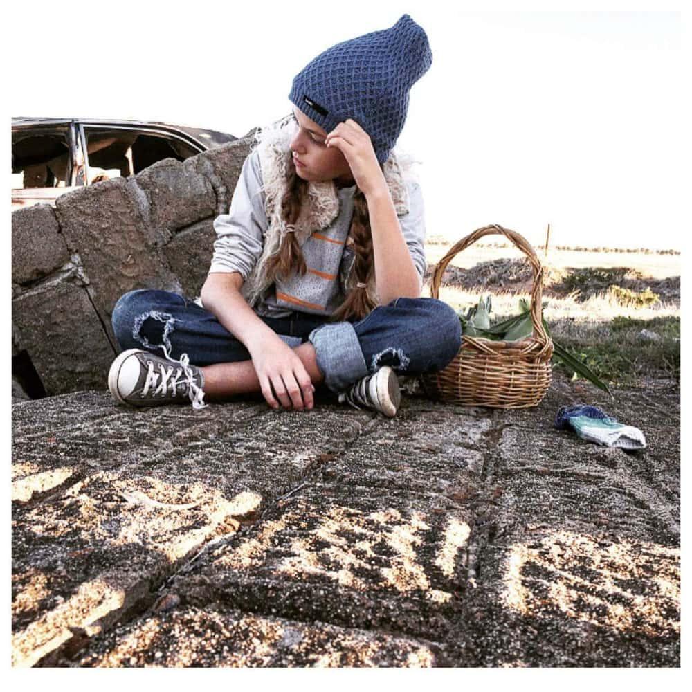 photoshoot on a farm