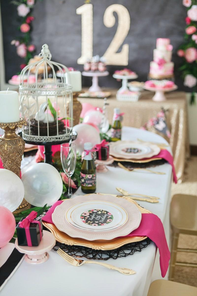 tween party ideas - decorations