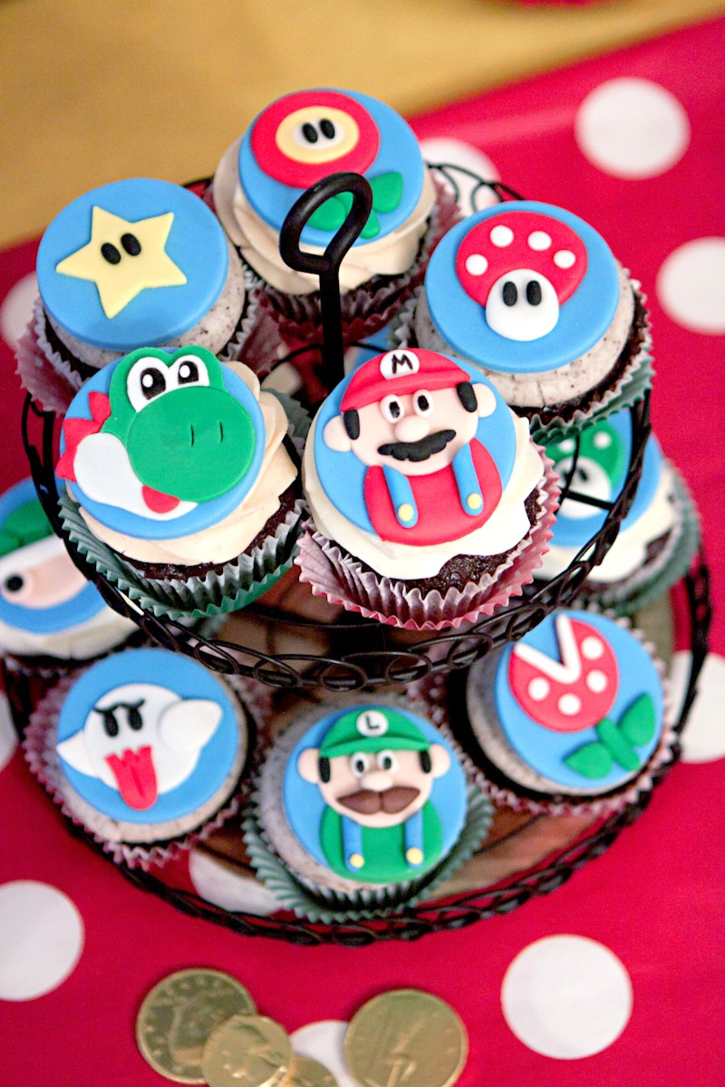 Mario brothers party ideas