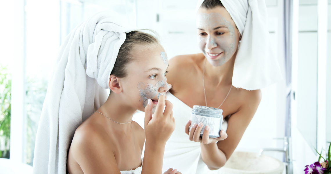 DEVELOPING A SKINCARE ROUTINE FOR YOUR TWEEN