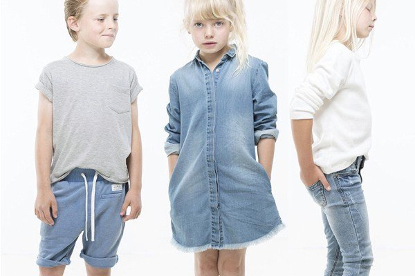 Kids wearing Hipkin Clothing