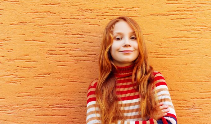 Girl smiling - benefits of homeschooling