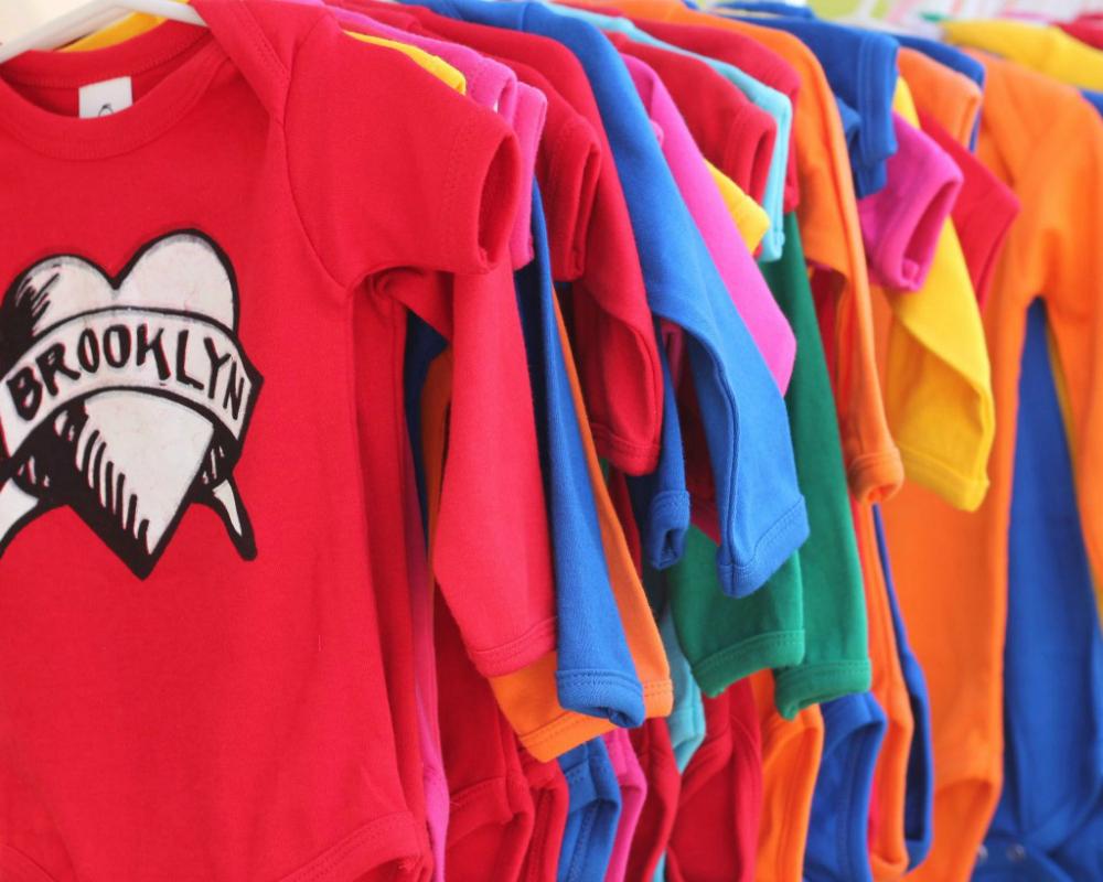 Shirts at the Brooklyn Flea Market