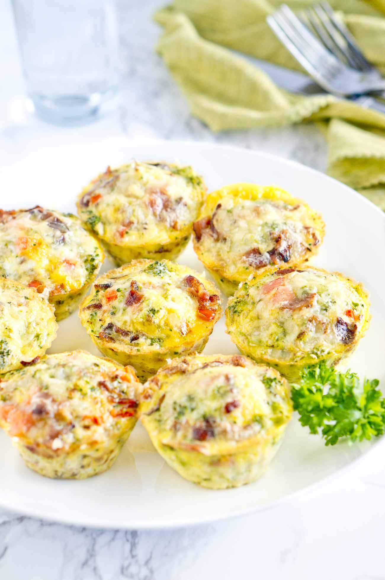 Breakfast ideas for kids - egg muffins