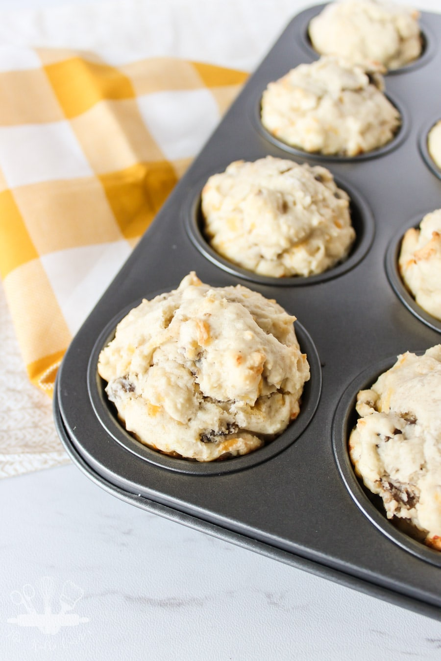 Sausage and Cheese Breakfast Muffins
