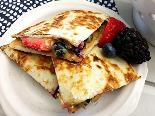 Breakfast ideas for kids - quesadillas