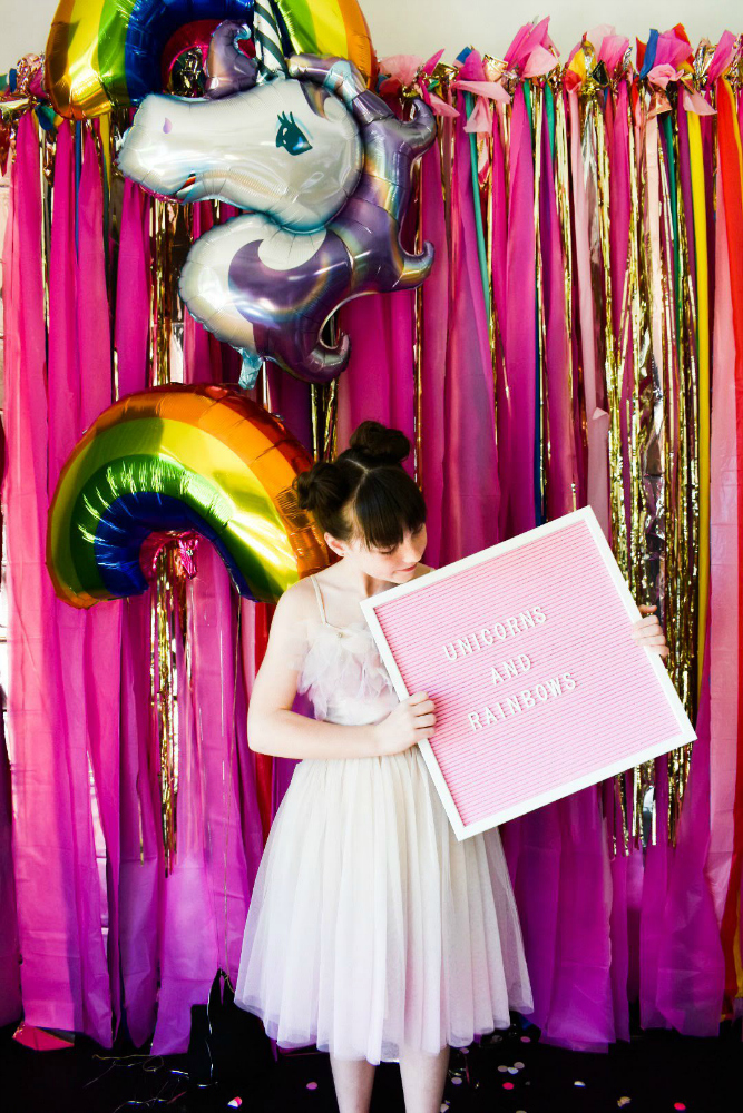 Rainbows and Unicorns Birthday Party for Tween
