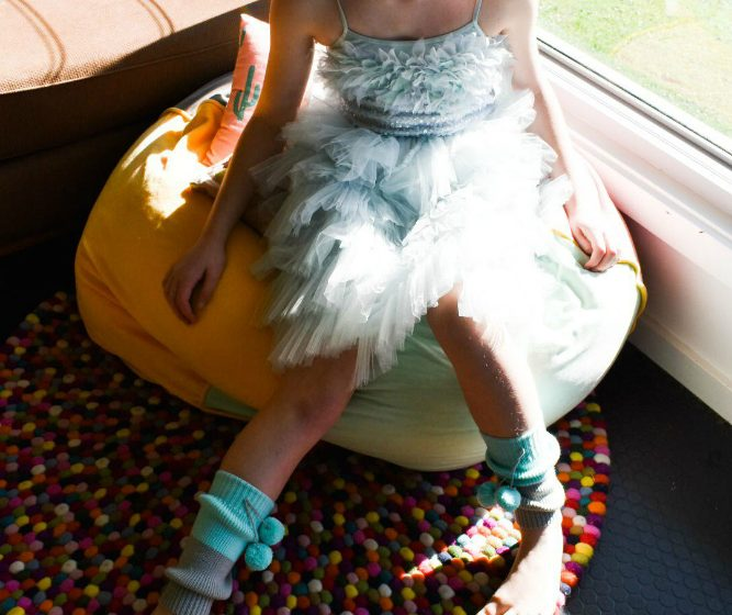tween in tutu Tween party ideas