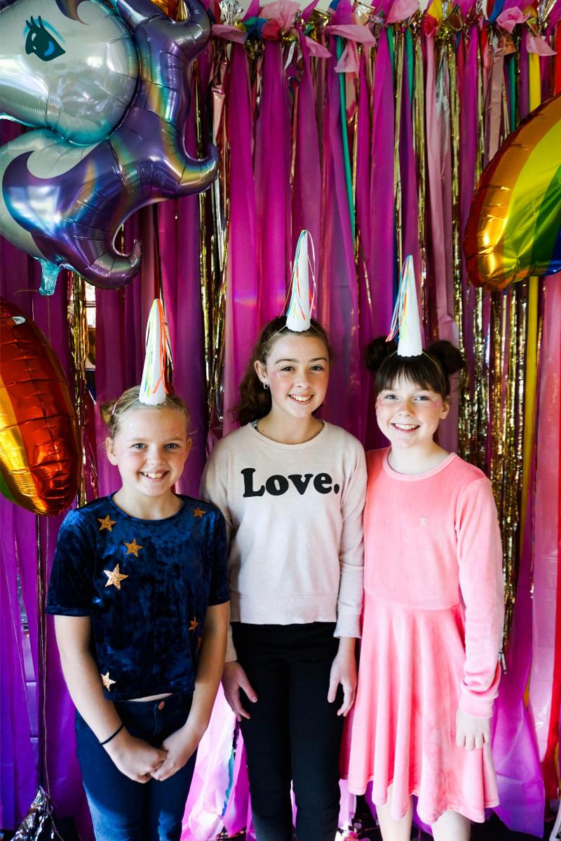 tween birthday party ideas - unicorn theme!