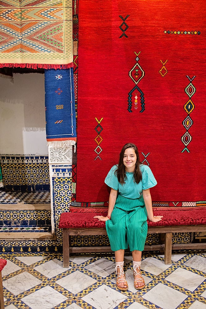 worldschooling - tween traveling Morocco