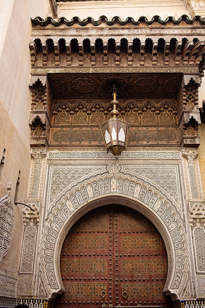 Moroccan buildings