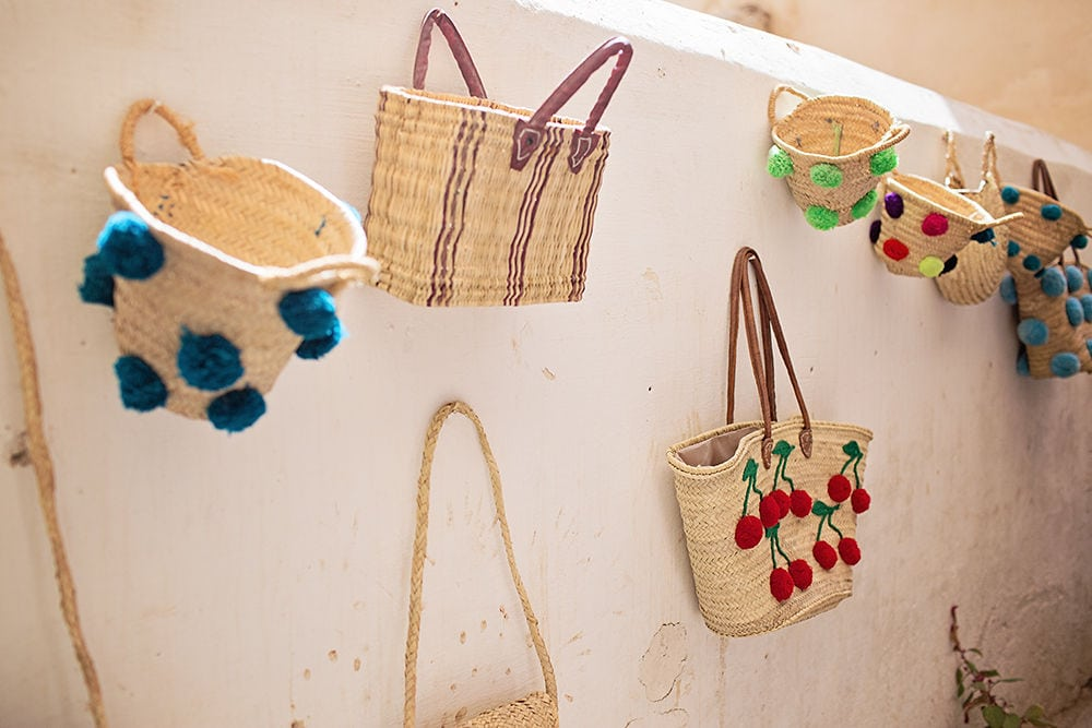 Colourful Moroccan Bags