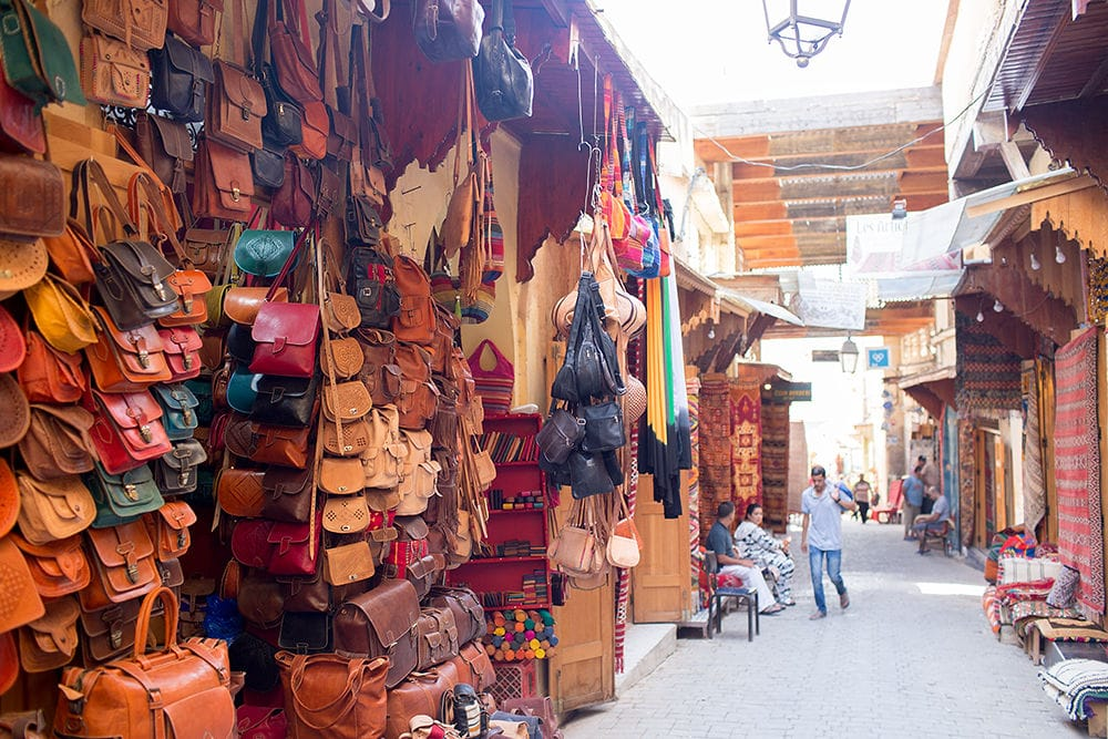 Moroccan Bag store