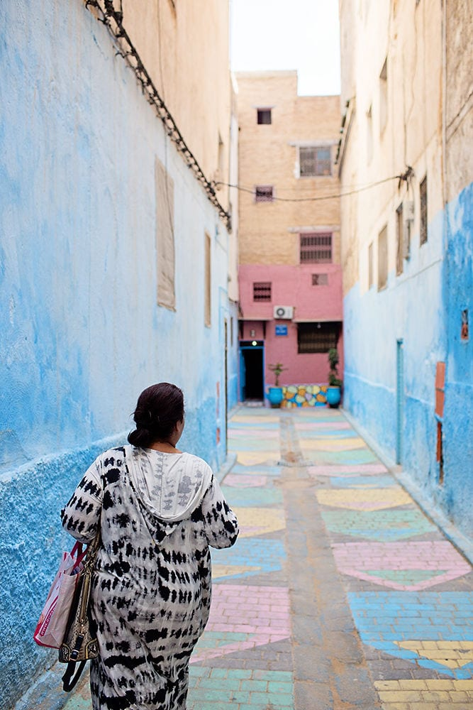 Moroccan back street