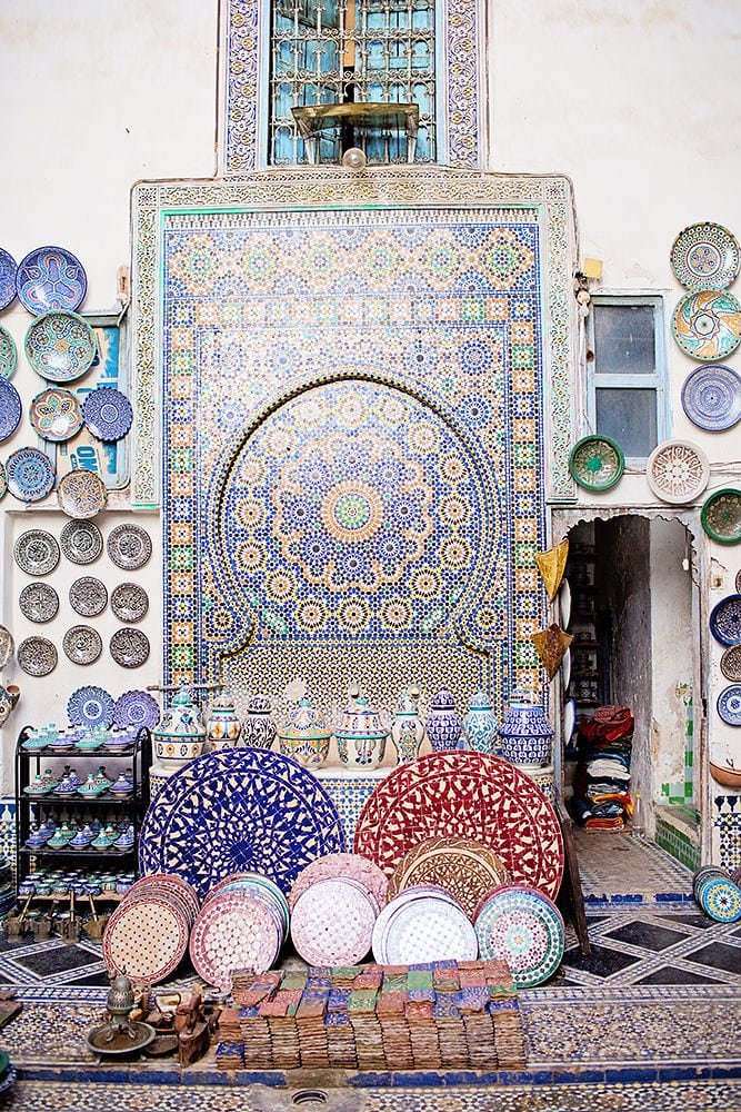 Moroccan Tiles and Plates