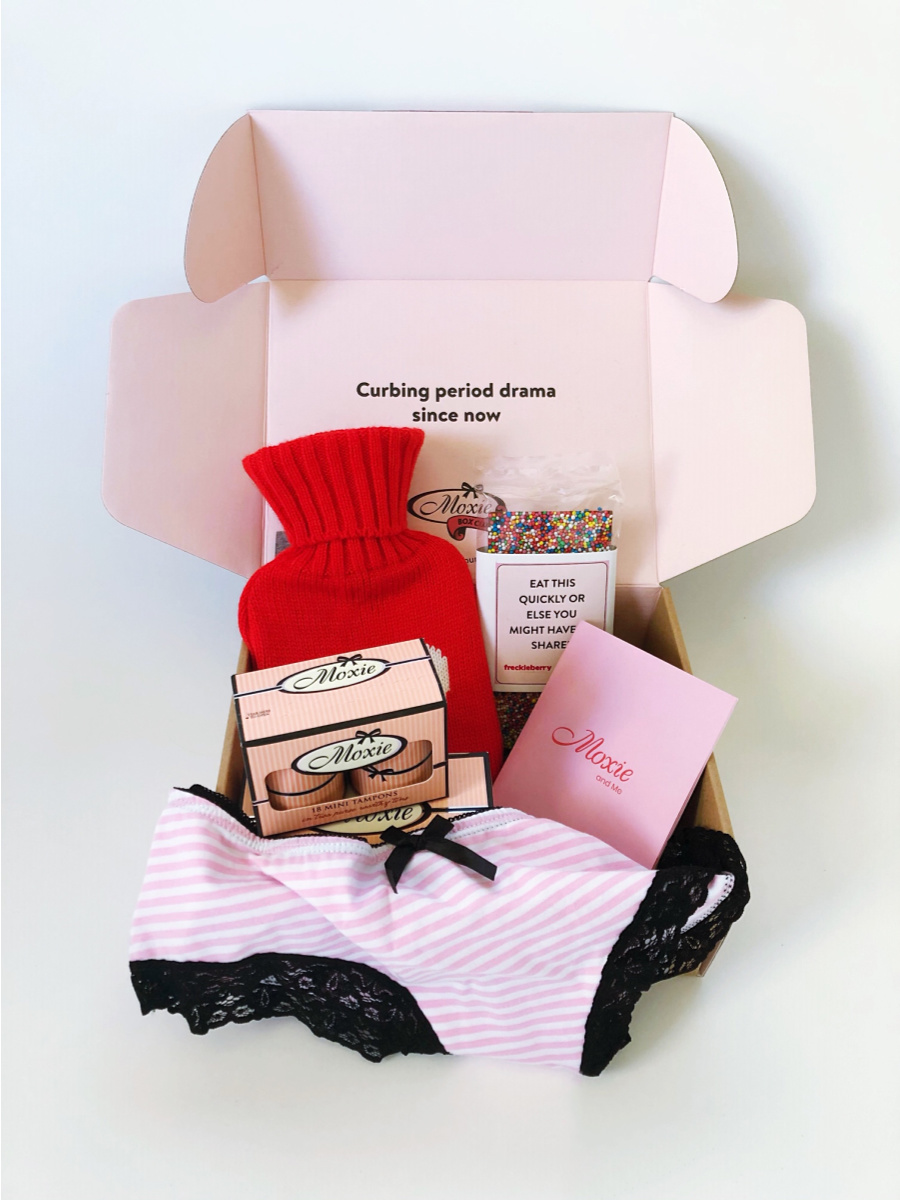 Moxie Period Subscription Box Australia