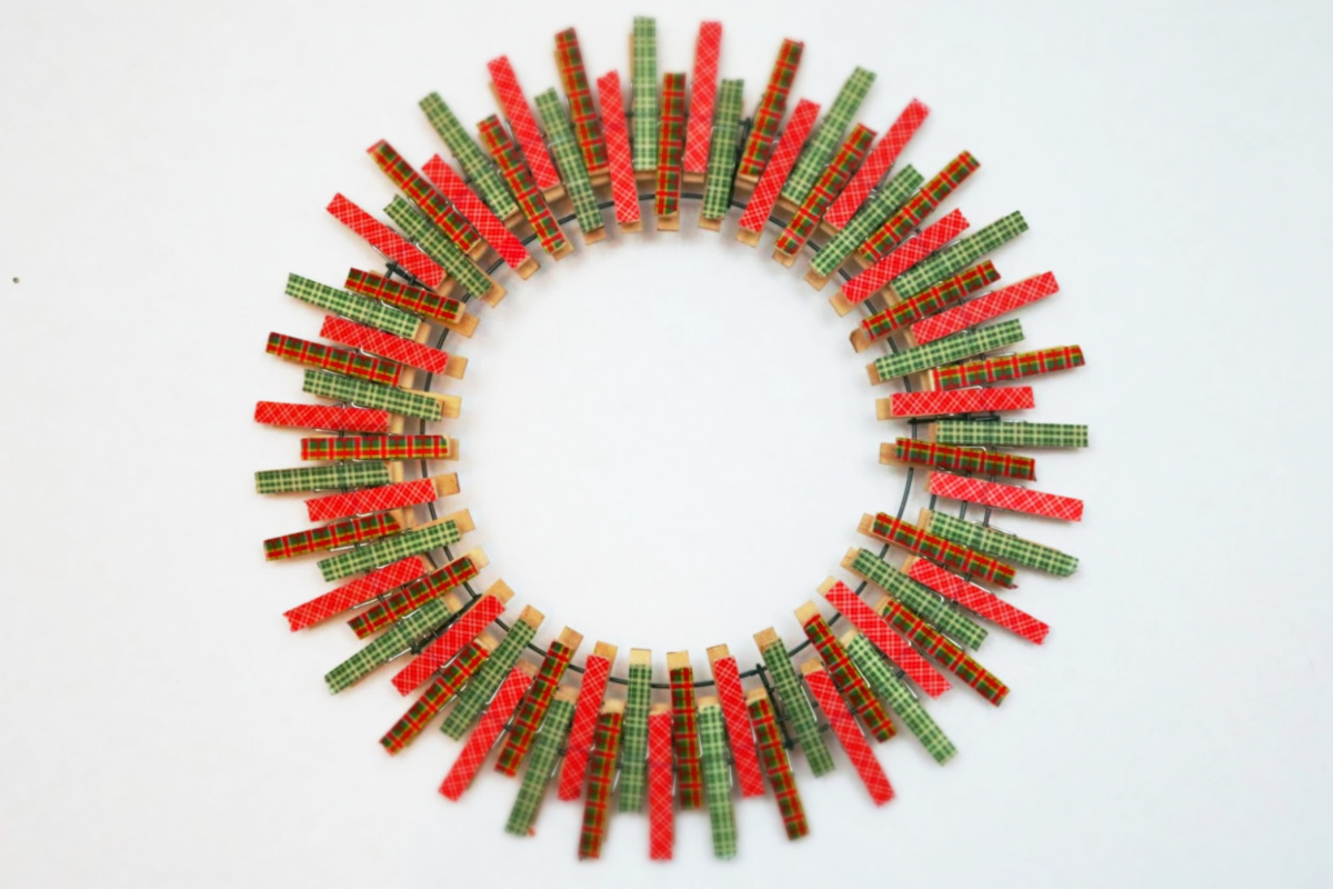 Christmas Craft Wreath