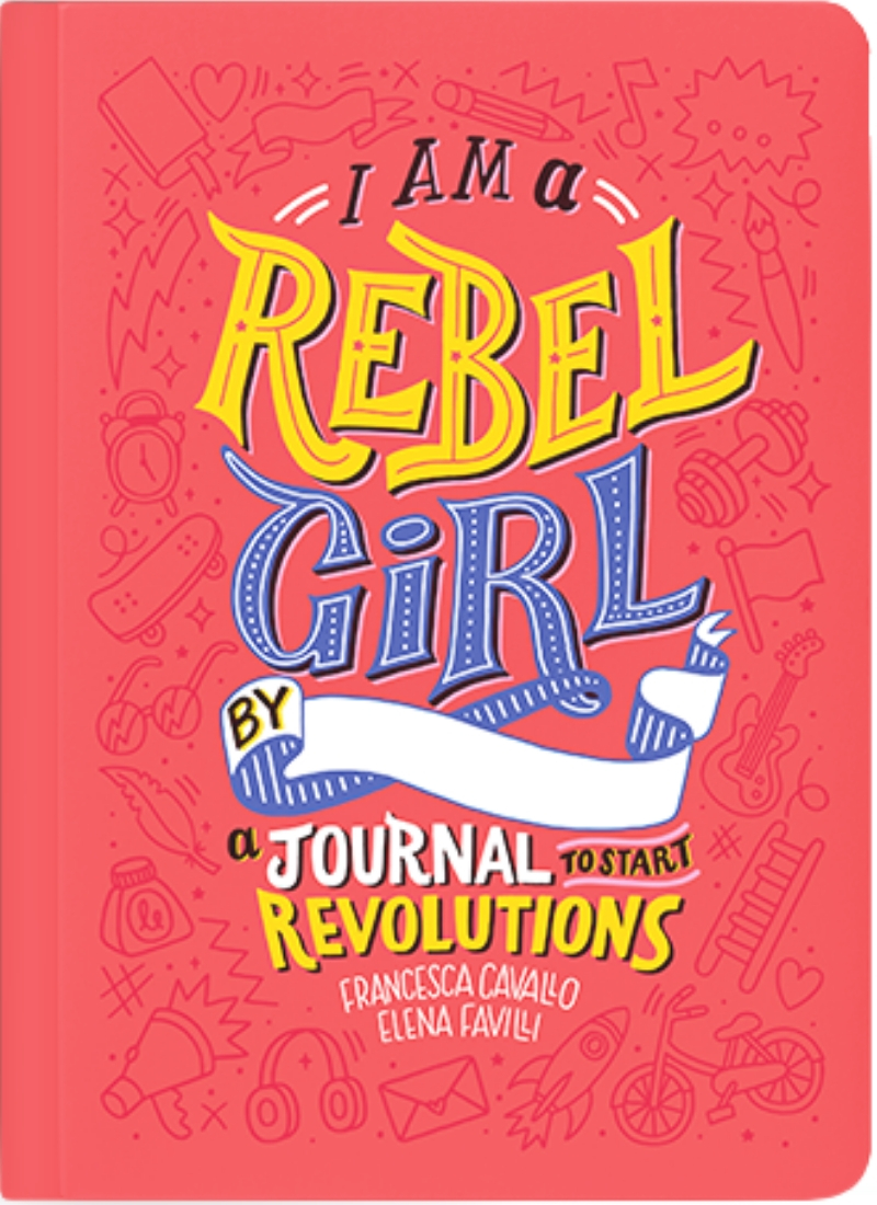 Journals for tweens - I am a Rebel Girl