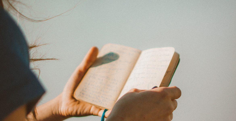 Journals for Tweens - Girl reading journal