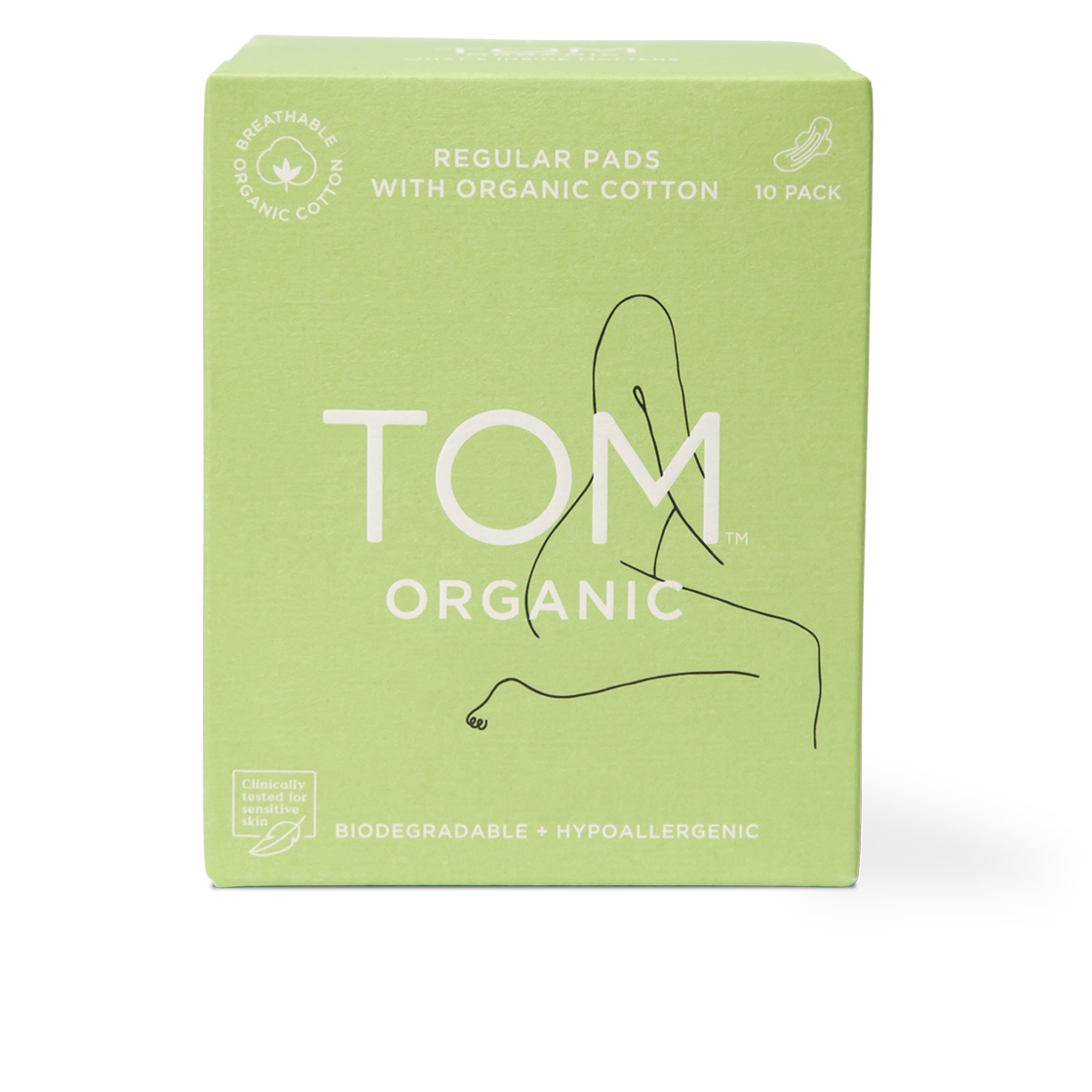 Tom organic regular pads