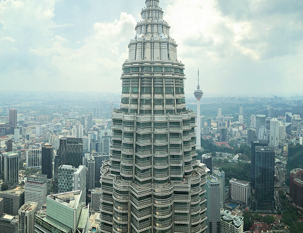 a day in Kuala Lumpur - tall building in the city