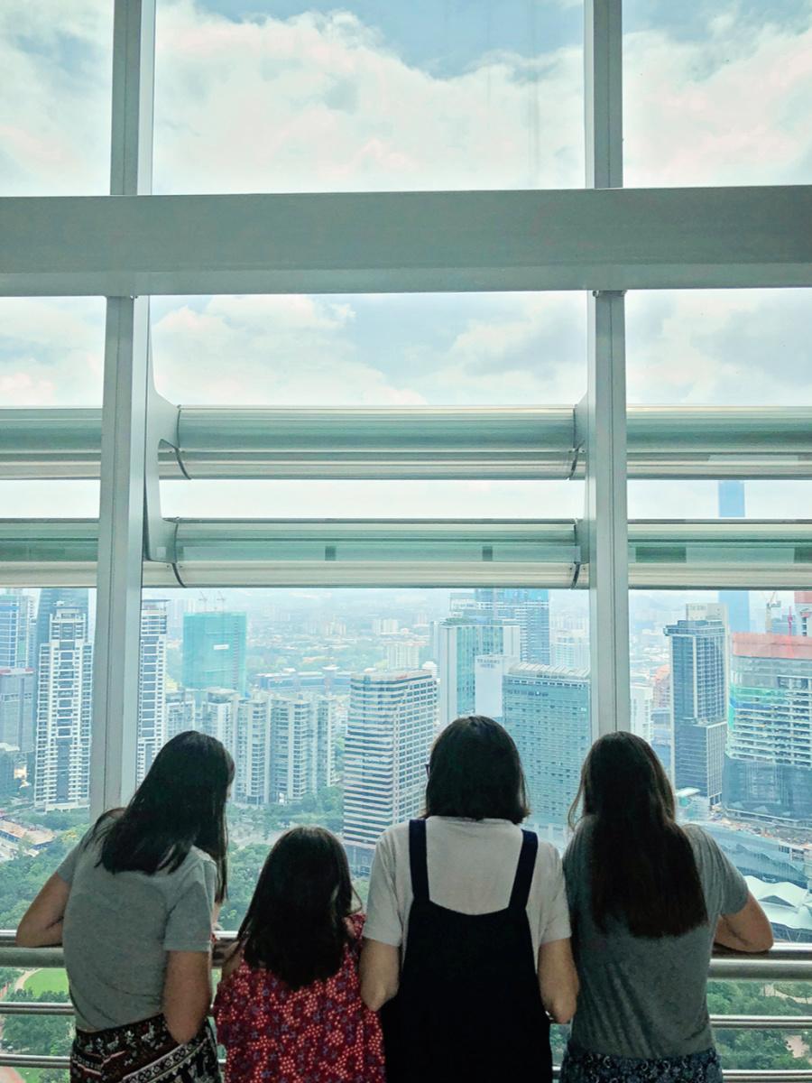 a day in Kuala Lumpur