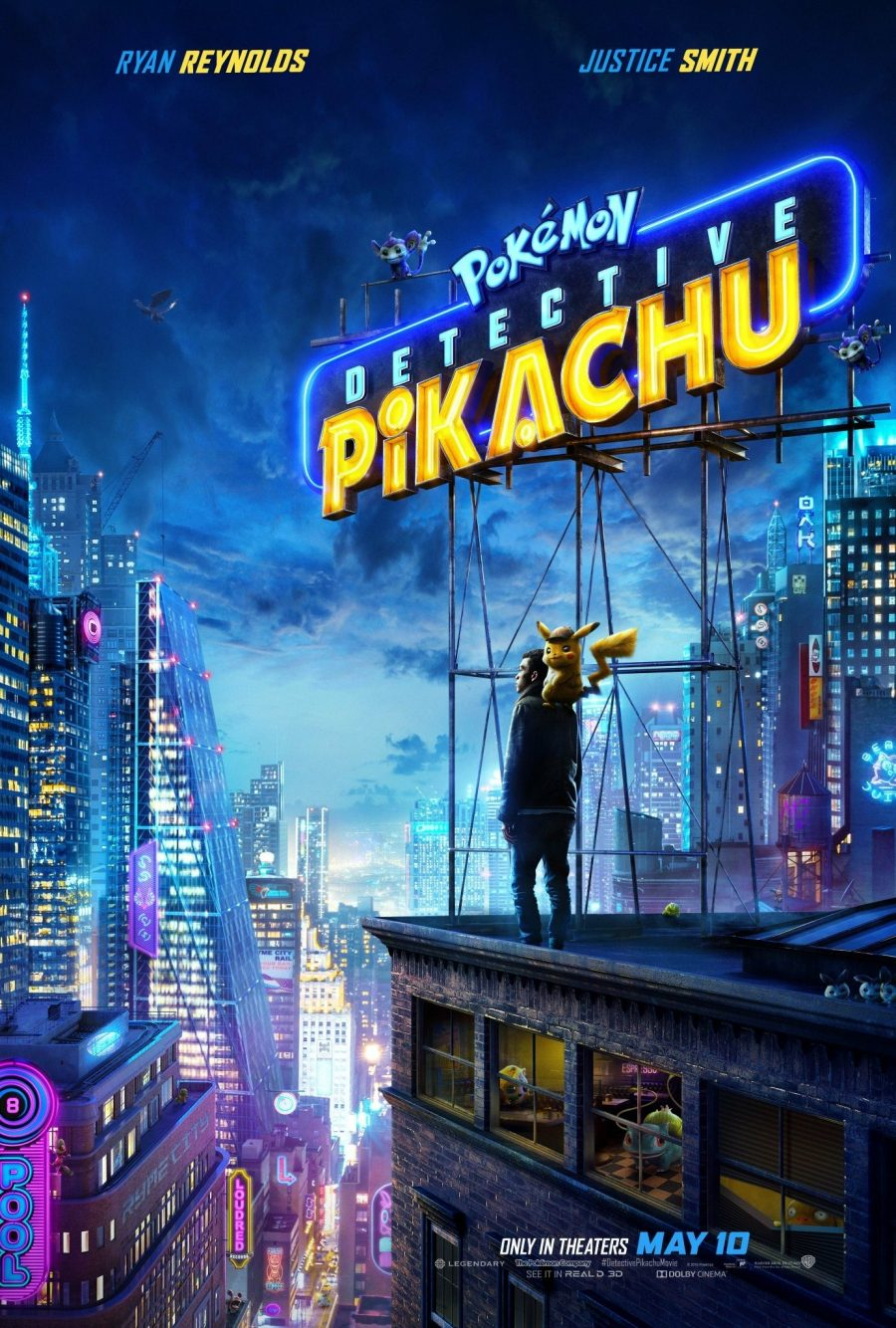 Pikachu detective poster