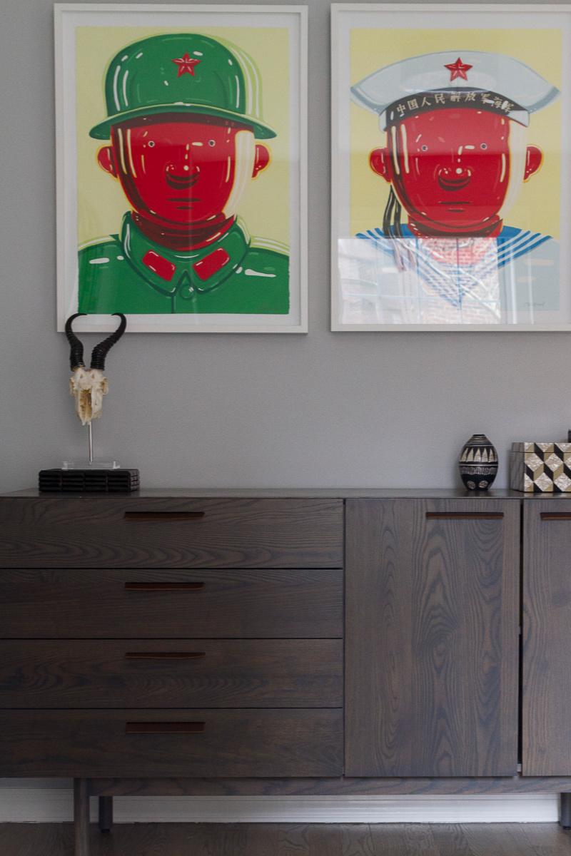 Teen Room Decor - Dresser in Max's Room.