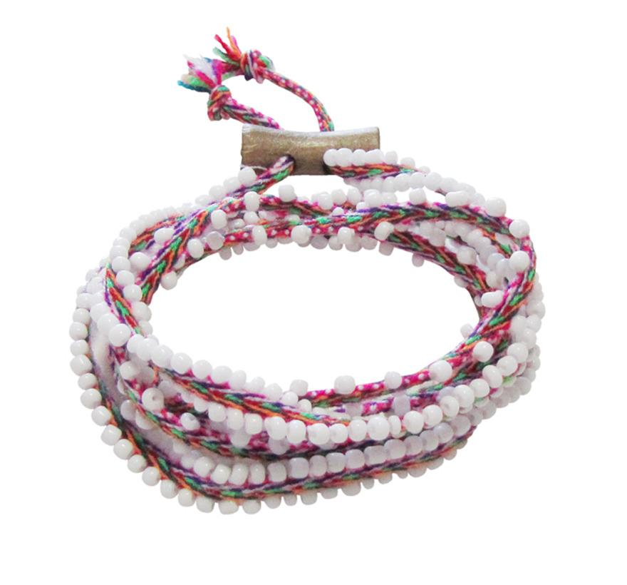 beaded wrap bracelet - Gift Ideas for Teens