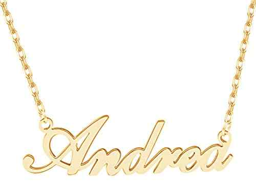 personalised name necklace : gift ideas for tweens and teens