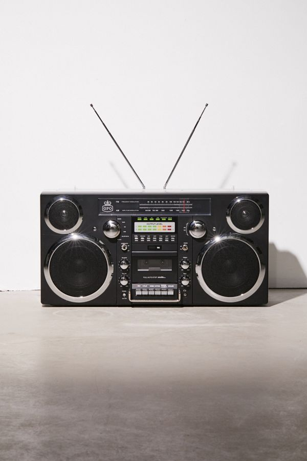 GPO Brooklyn Portable Boombox - gift ideas for teens