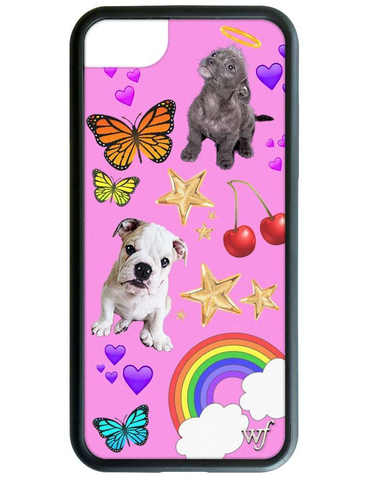 Wildflower phone case puppy love