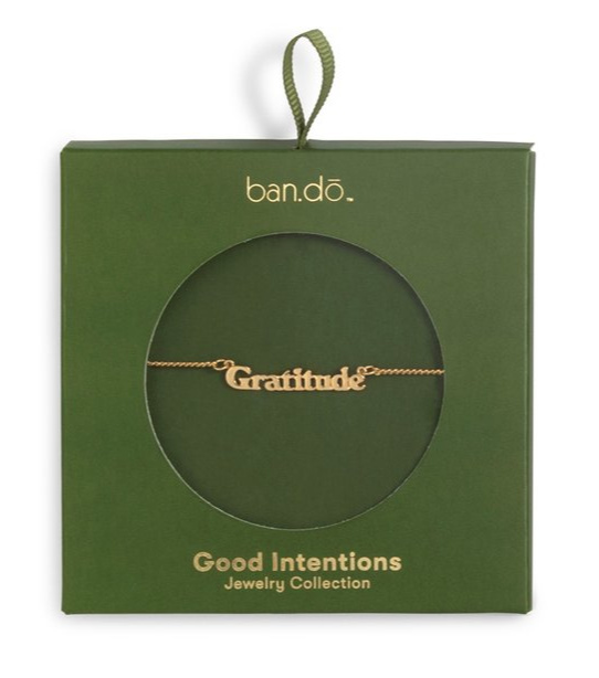 gift ideas for teens: ban do good intentions necklaces