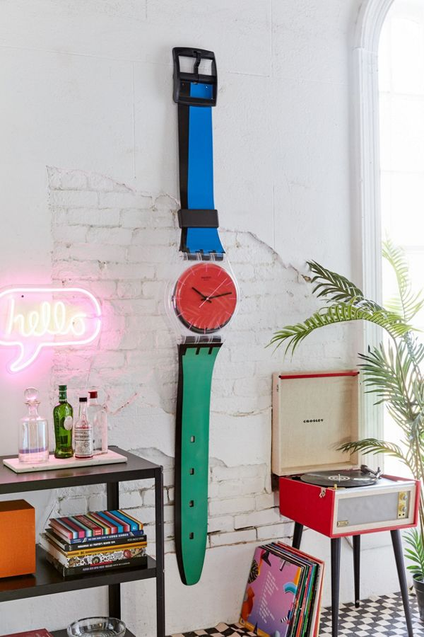 Swatch Maxi À Coteé Wall Clock
