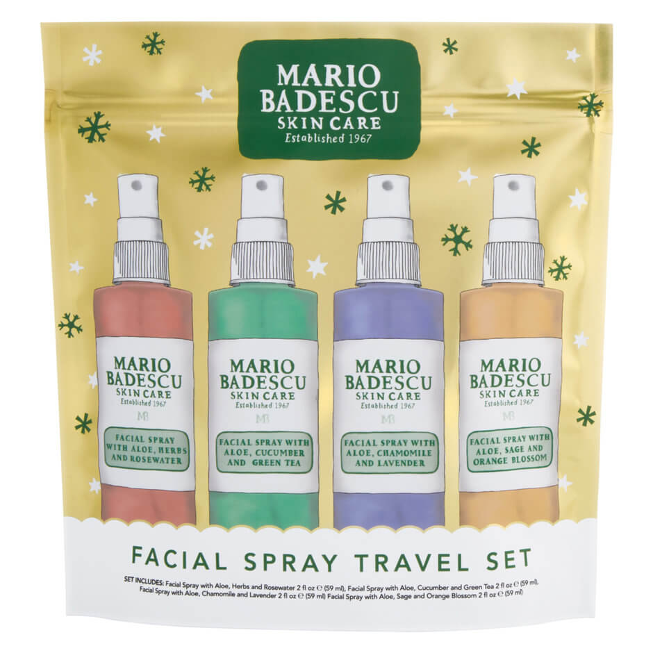 Gift ideas for teens - Mario Badescu Facial Spray 4 Pack