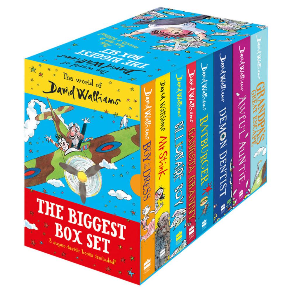 david walliams box set | gift ideas for tween boys
