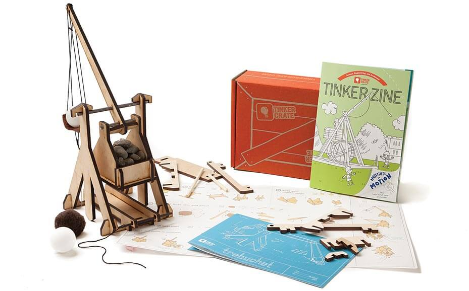 Gift ideas for tweens - tinker crate STEM project